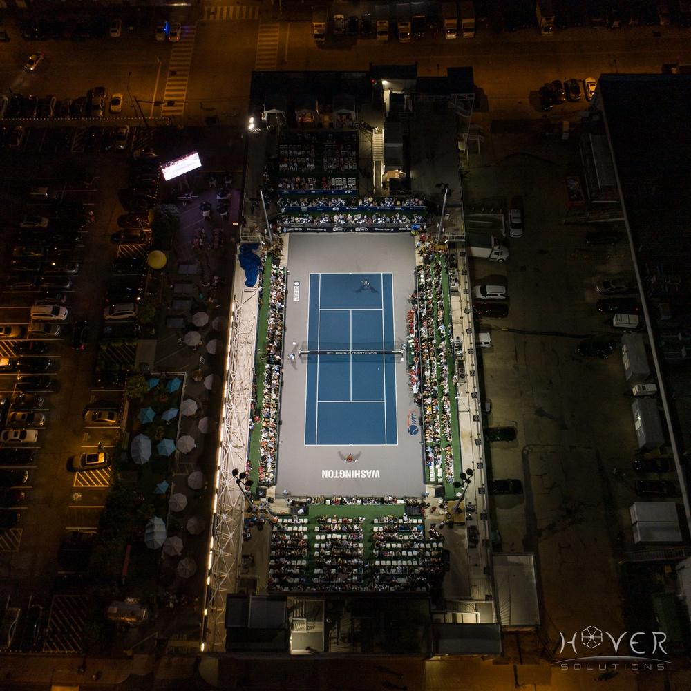 The Washington Kastles Stadium on the Roof of Union Market, Washington DC