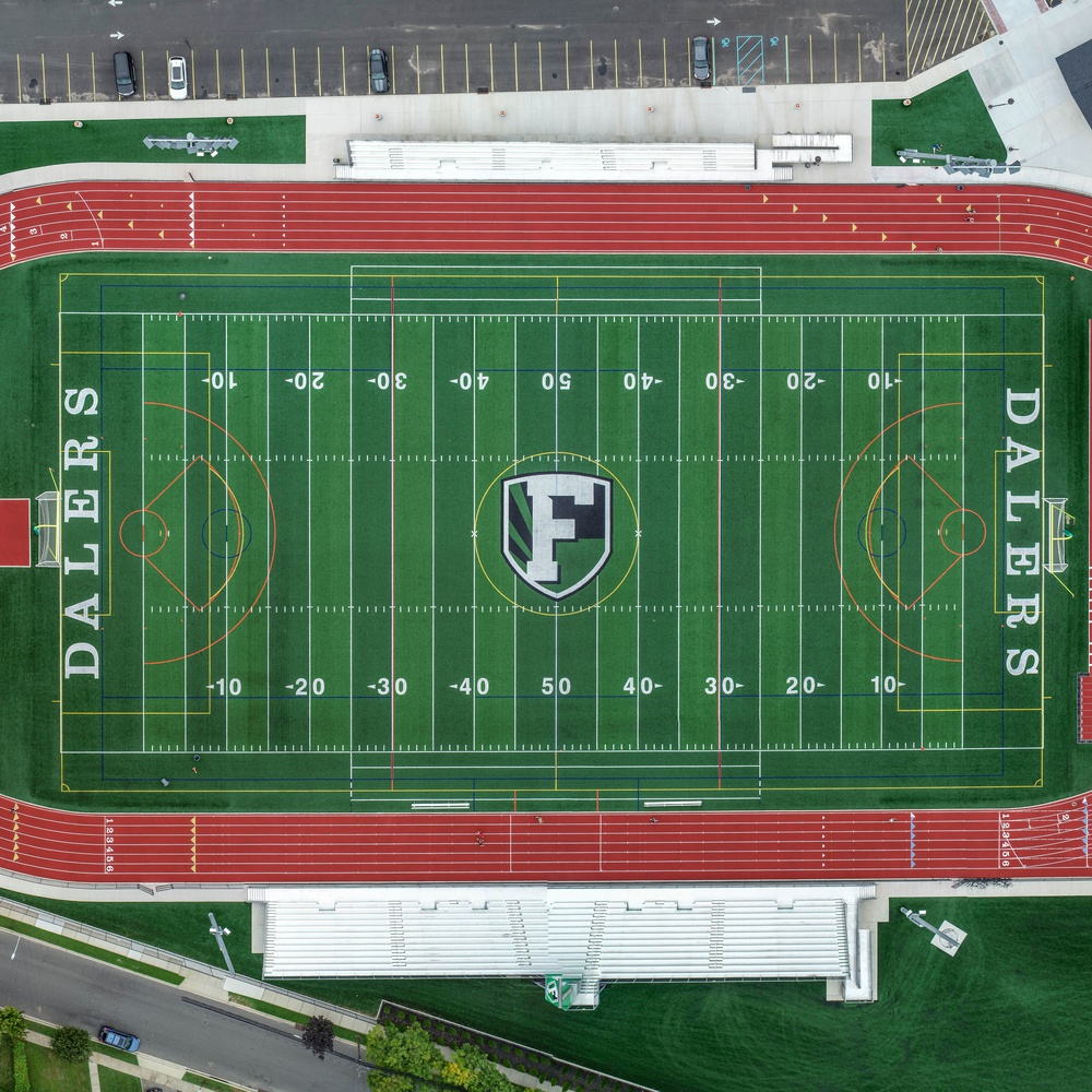 Football Field Overhead