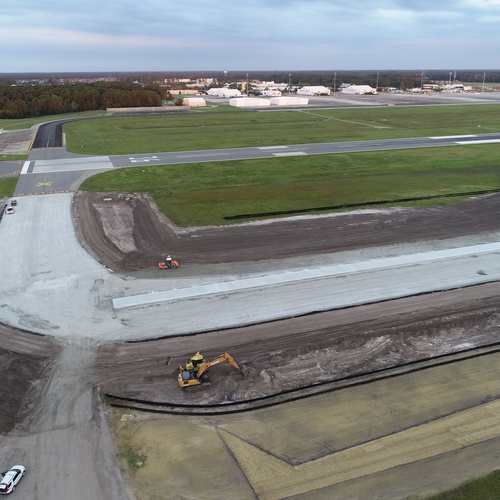 MYR International Airport Taxiway Construction (Restricted Area Aut...