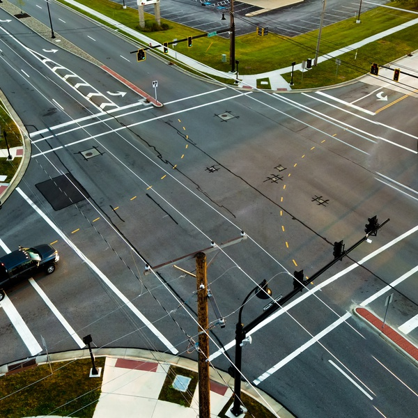 US 42 - Medina, OH Intersection