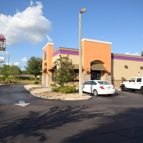 Taco Bell ground and aerial shoot