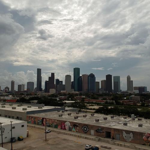 Houston Skyline (Sawyer Yards)