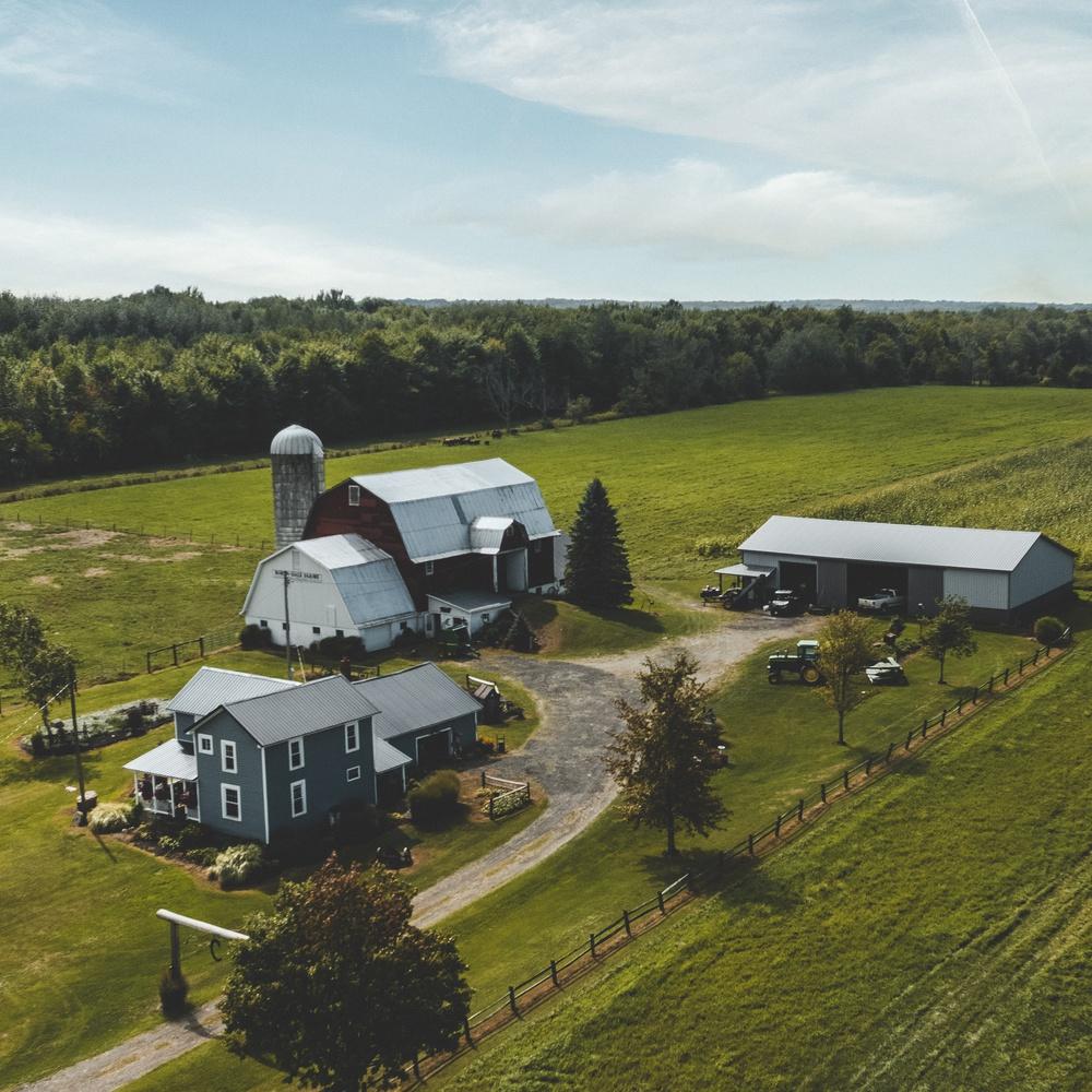 Farm near North East, Pennsylvania