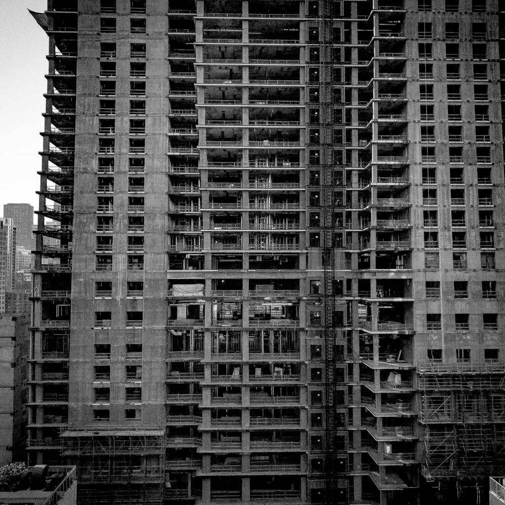 Concrete jungles-Vista tower Chicago