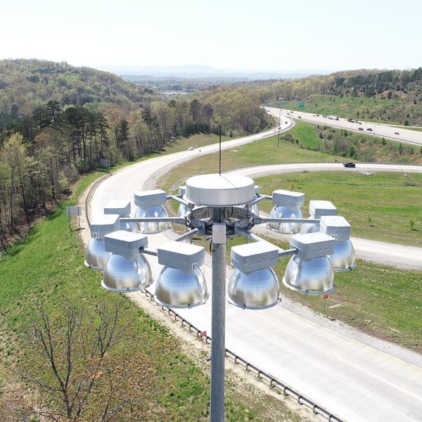 Highway Lightpole Inspection