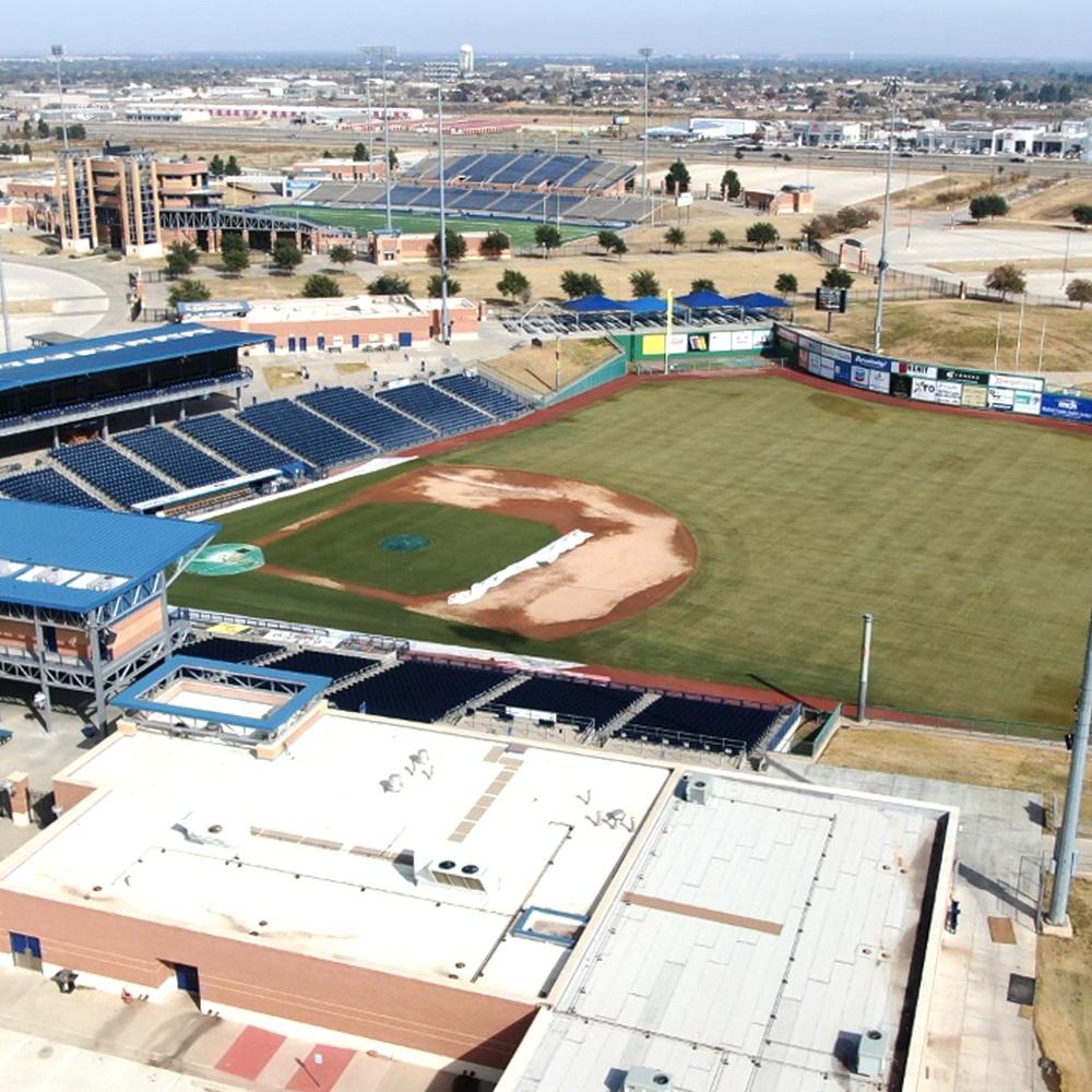 Rockhounds Stadium in Midland