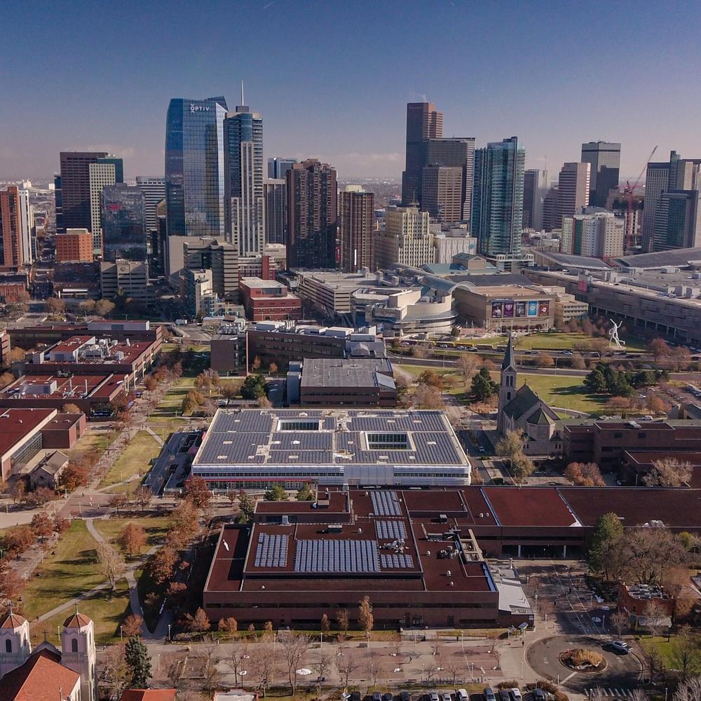 MSU Solar Array, Denver