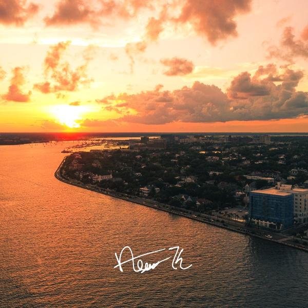 Downtown Charleston Sunset (Charleston, SC)