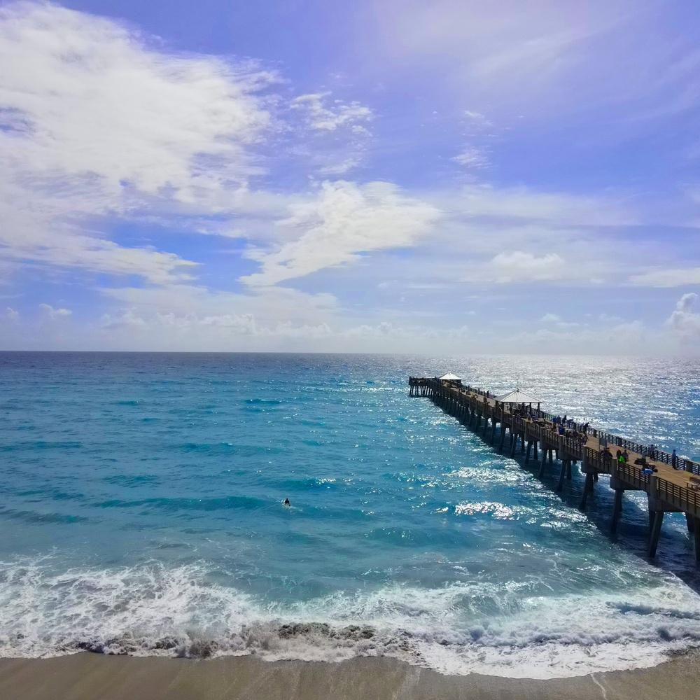 Juno Beach Fishing pier