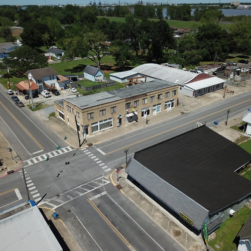 Shuttered Bar Downtown Port Allen, West Baton Rouge Parish
