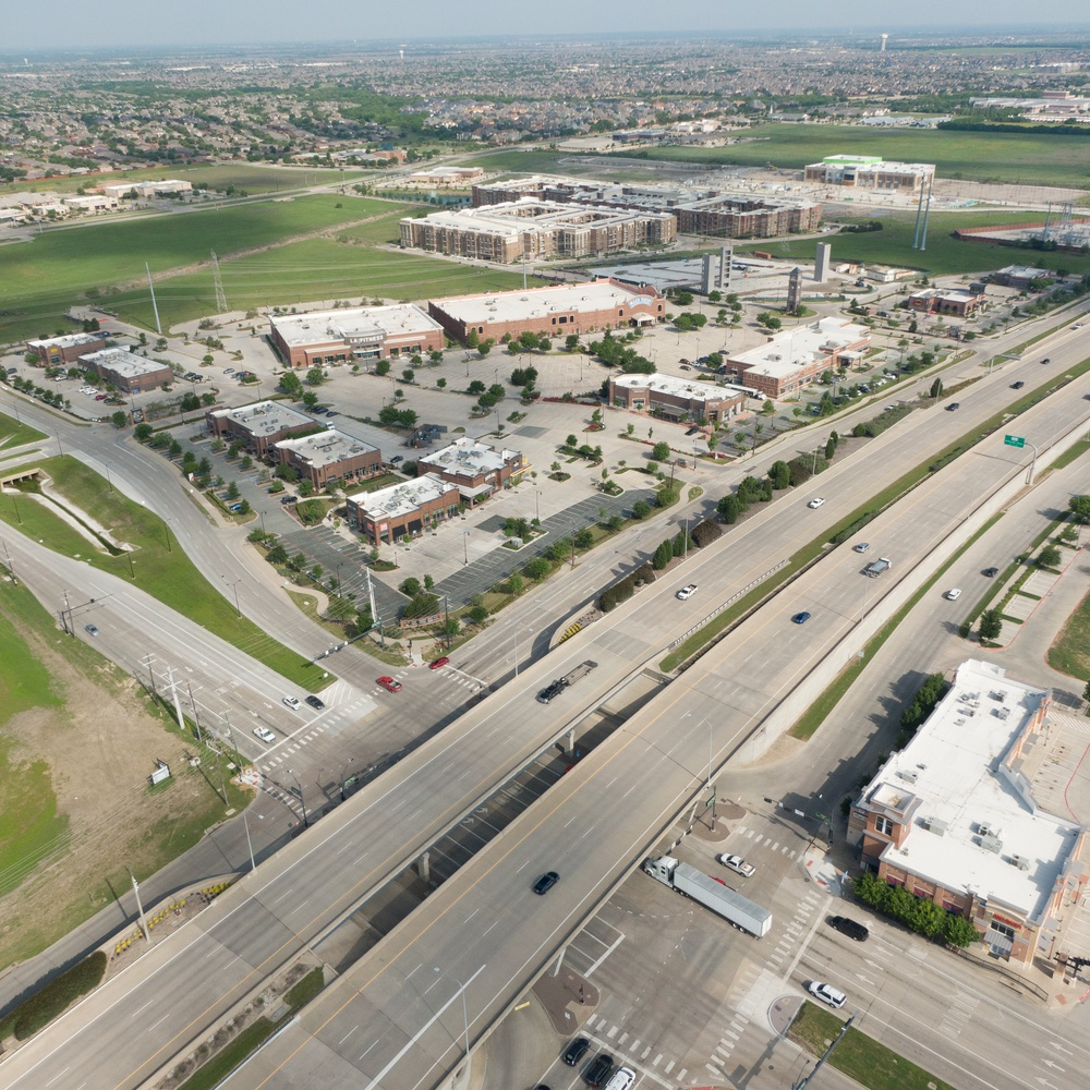400 Ft Commercial real estate photography Frisco, TX