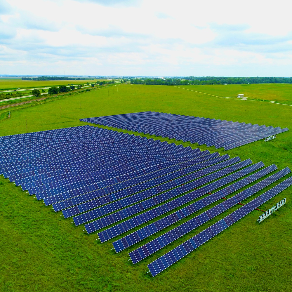Fremont, Nebraska Solar Farm #2 for GenPro Energy Solutions - August 2020