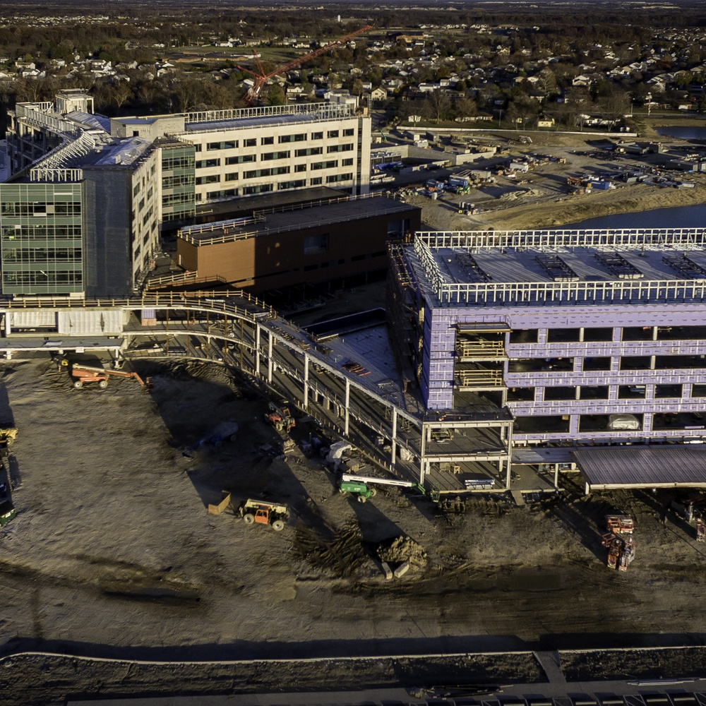 New wing on hospital