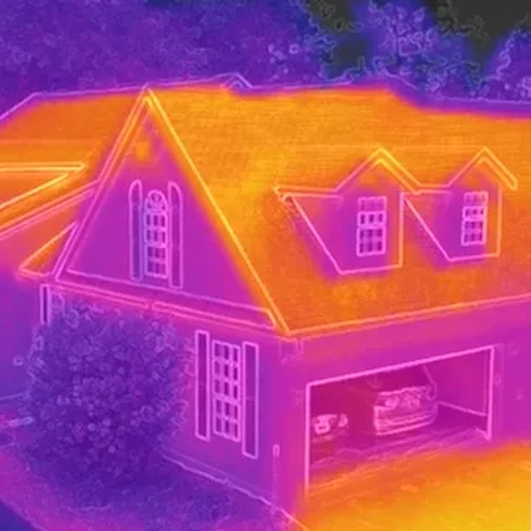 Thermal Roof Inspection - Residential Building