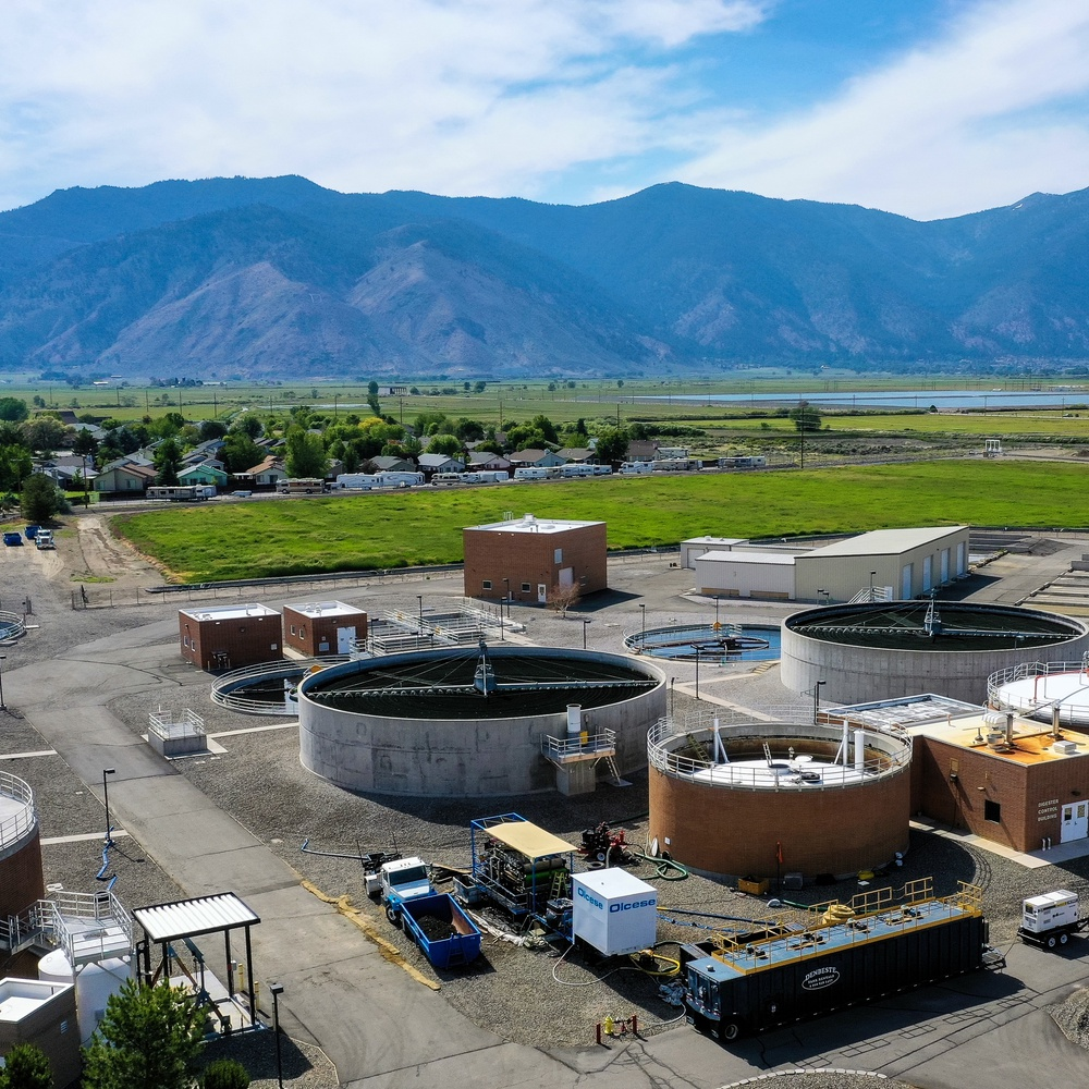 Wastewater Digester Cleaning Project