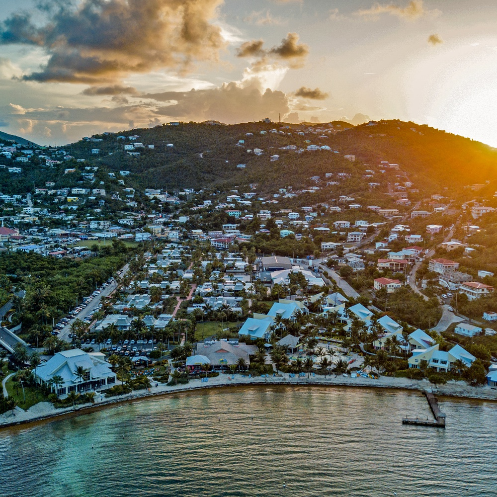 US Virgin Islands : Sunset @ Margaritaville