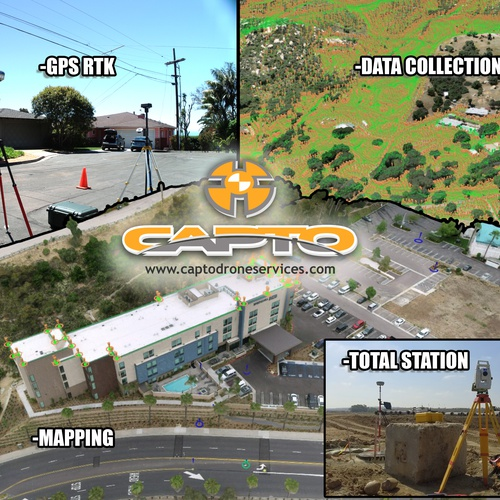 CAPTO drone mapping