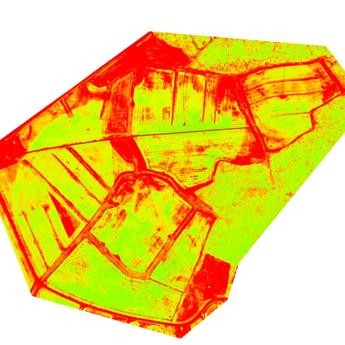 NDVI - Multispectral crop stress analysis
