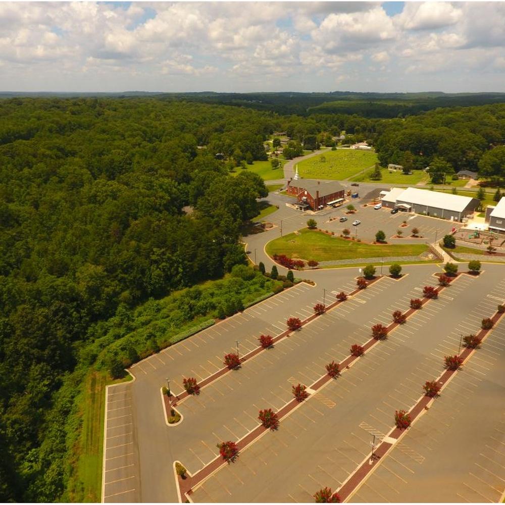 Church Campus  Aerial