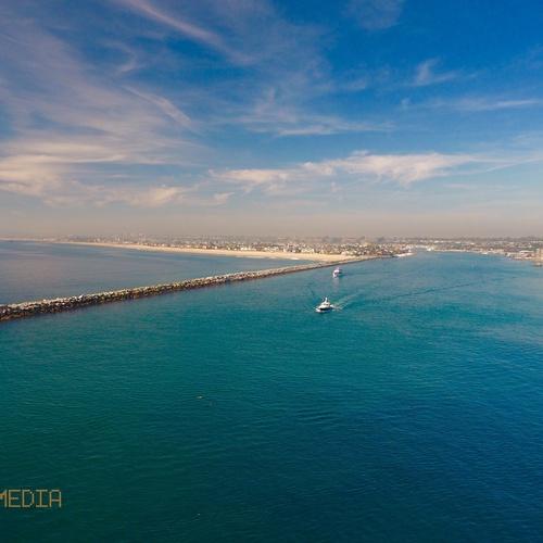 Newport Beach Harbor Over Water
