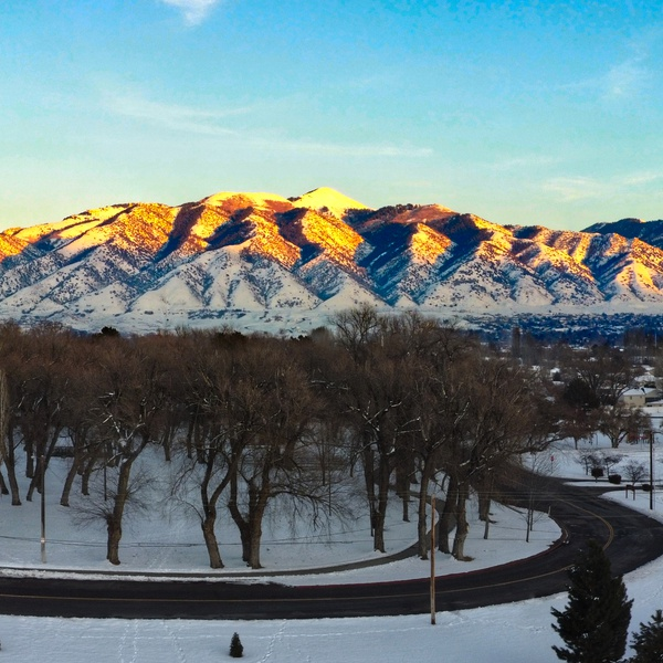 Logan Utah panorama