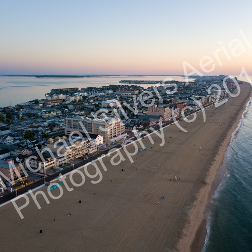 Ocean City, MD Beach Sunset