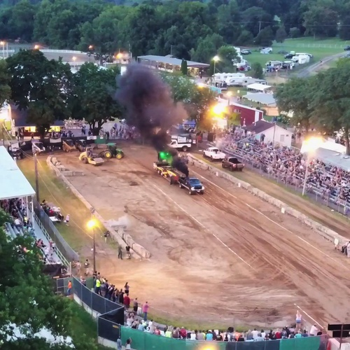 Warren County Farmers Fair Truck Pulls