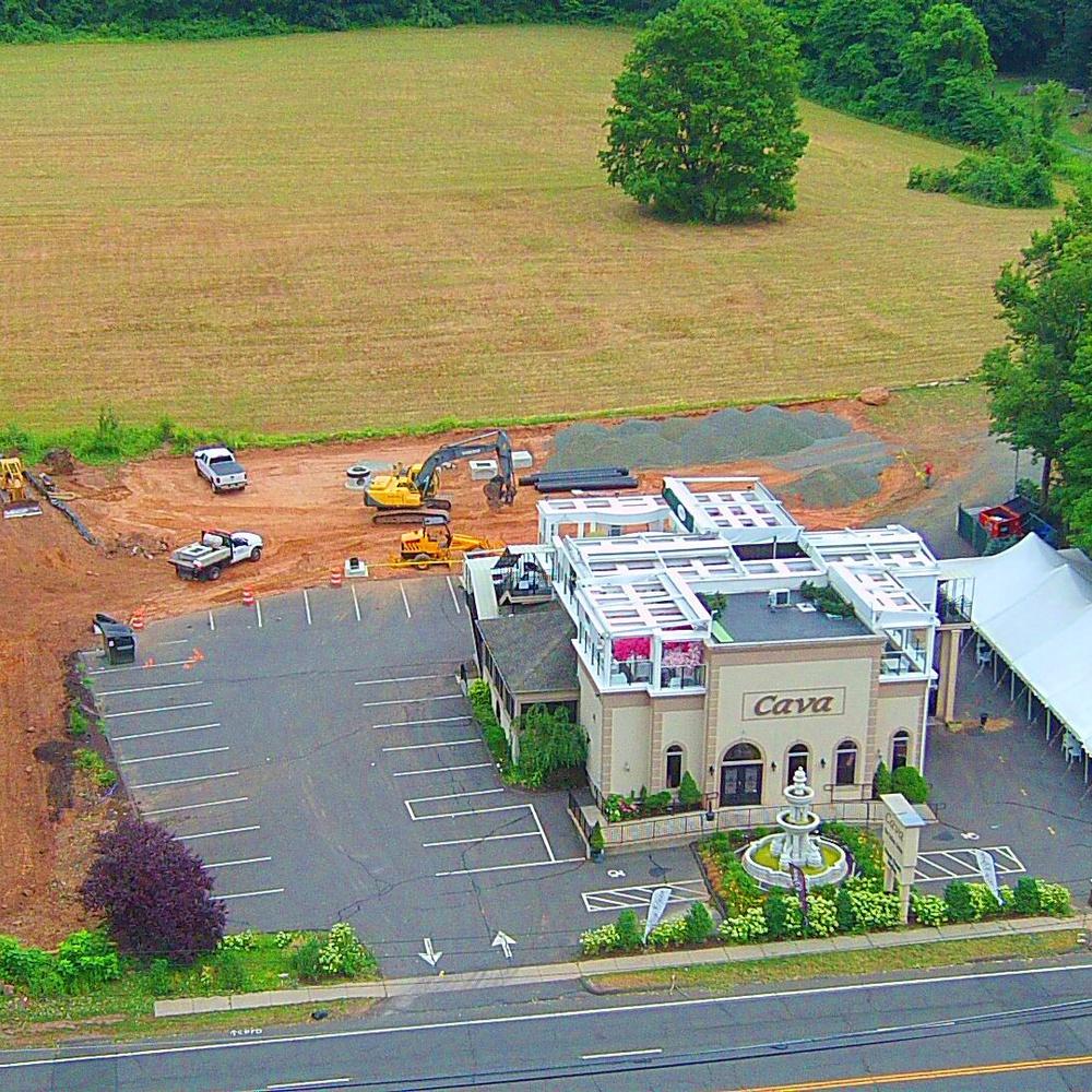 Construction Progress Photo of Parking Lot