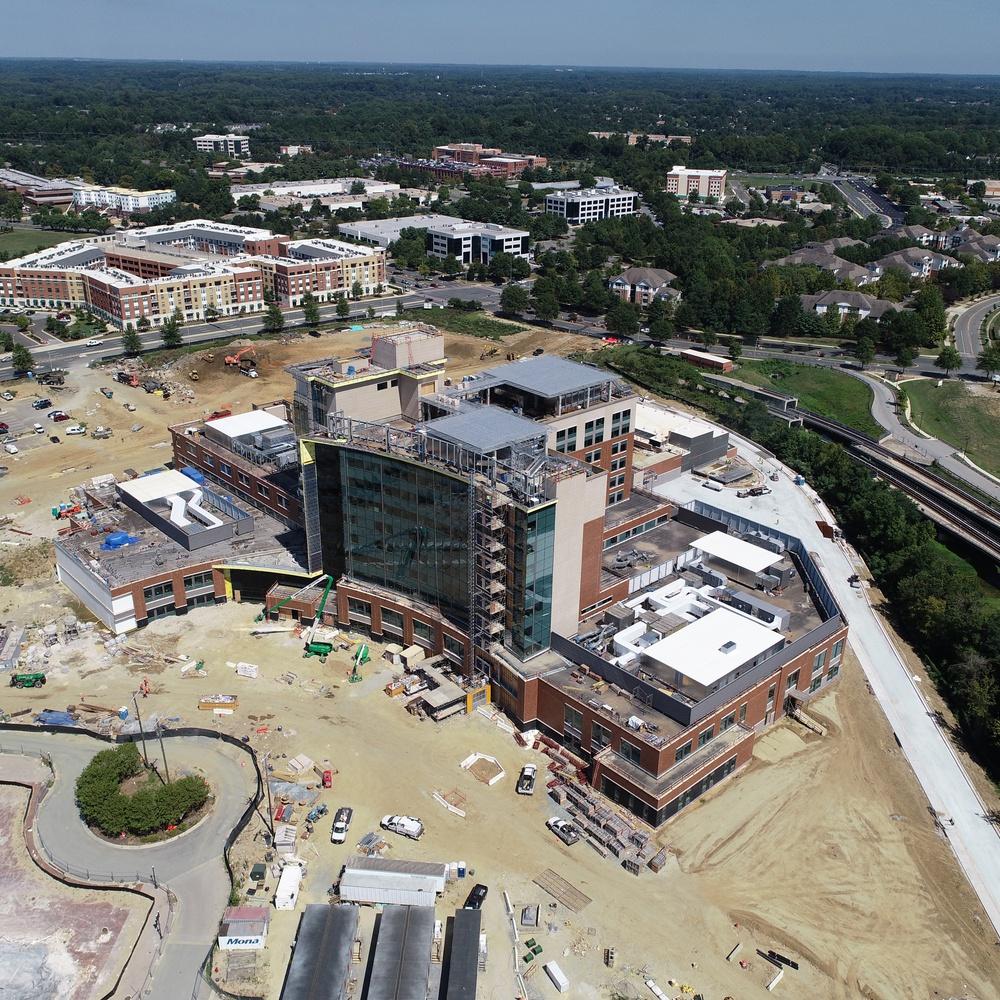 A Hospital Under Construction in Upper Marlboro, MD