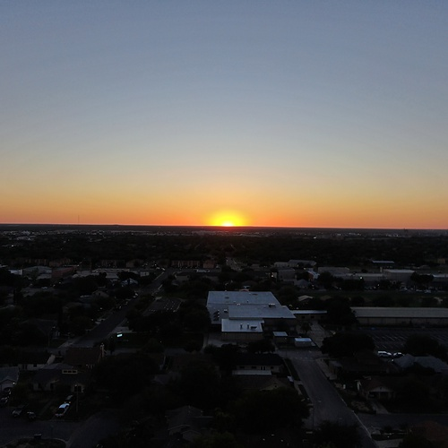 Sunset in Laredo, Texas
