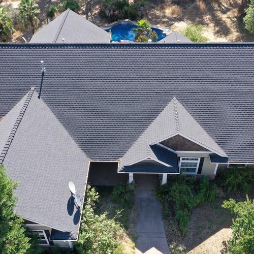 Roof Inspection Context Shot