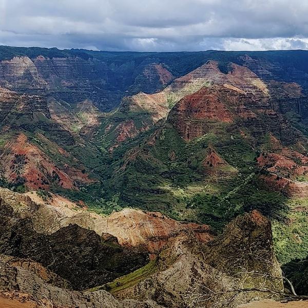 Wuaimia Canyon Wide Format