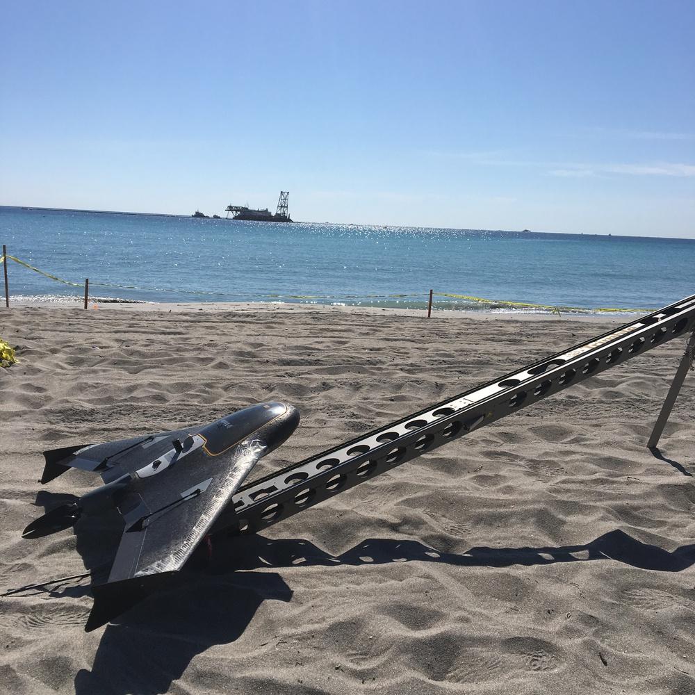 Coastal Morphology with UX5 2