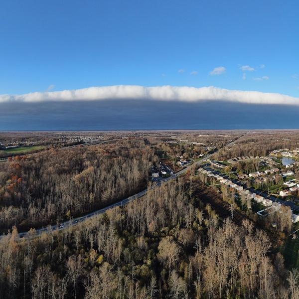 Shelf cloud front