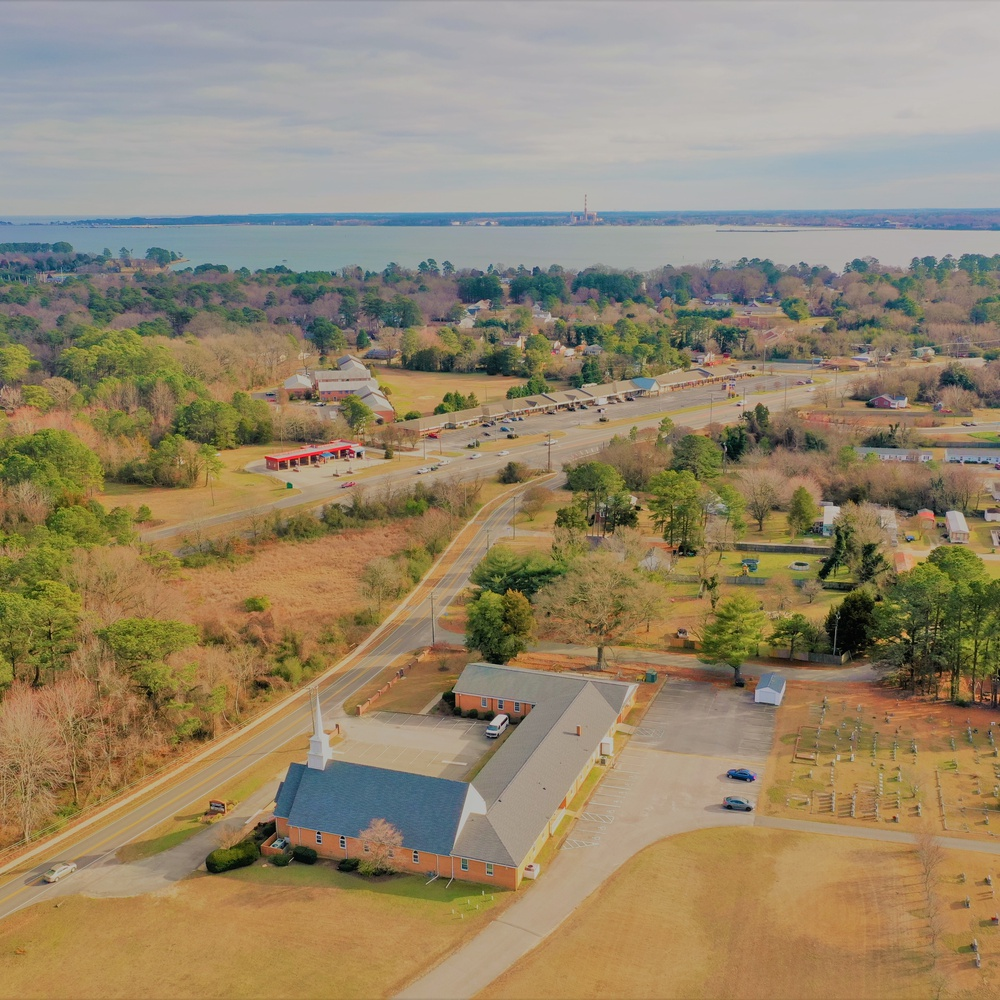 Aerial View of Bethany Church