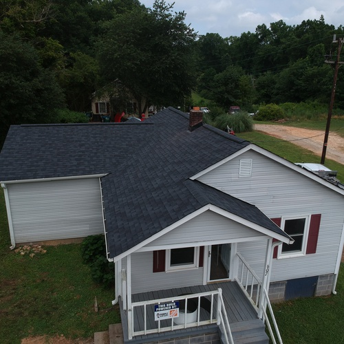 Roof Replacement for Purple Heart Homes