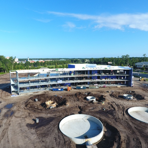 Top Golf Construction Record