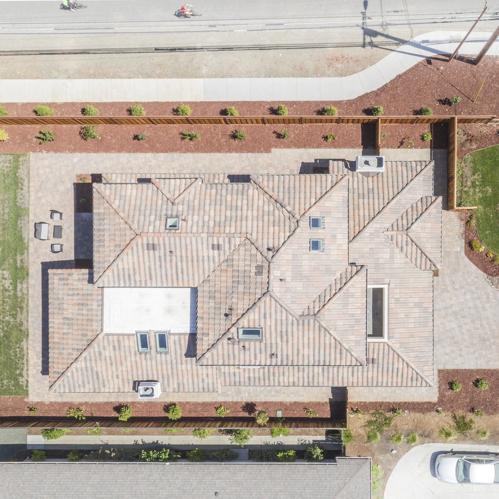 Aerial roof shot 1