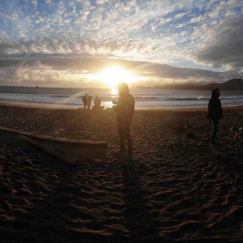 Panorama Tricks at the beach