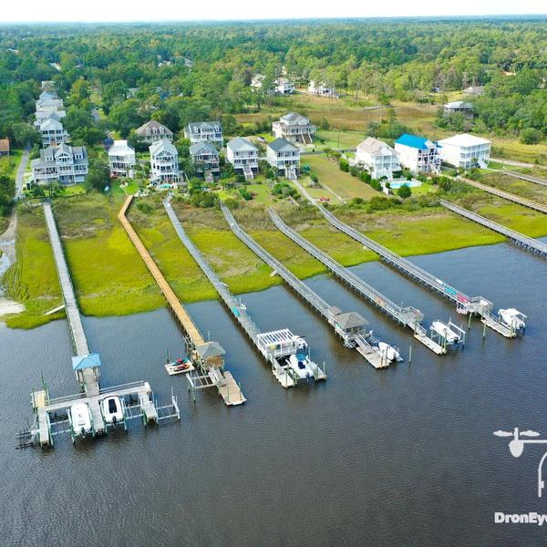 Aerial Real Estate Ocean