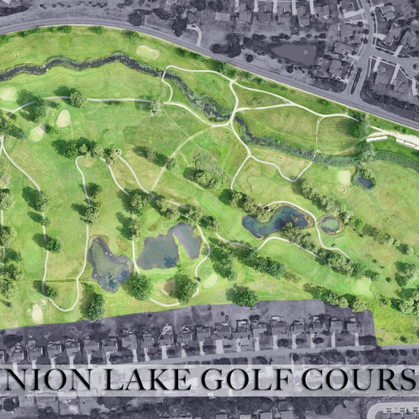 Orthomosaic Golf Course Example