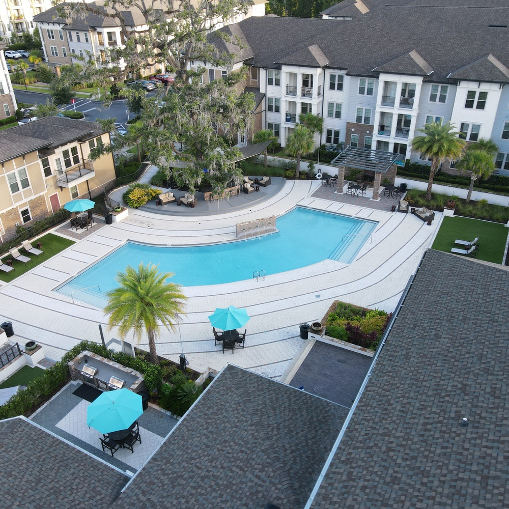 Apartment View of Amenities