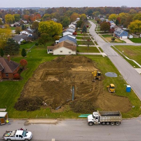 Residential Construction Progress