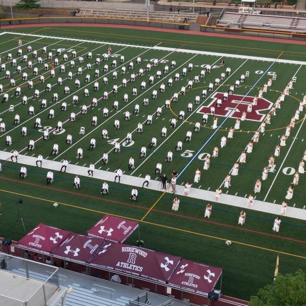 2020 Ridgewood HS Graduation Live Stream Drone Video Photo