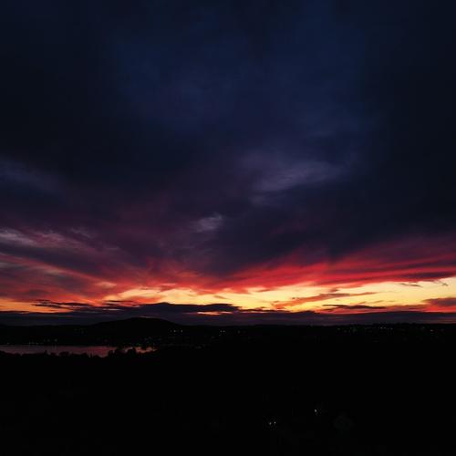 An glance of an East Coast Sunset