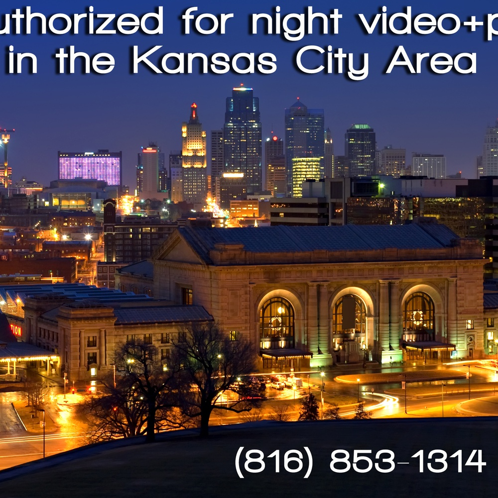 Drone On Demand is FAA authorized for night operations in the greater Kansas City area