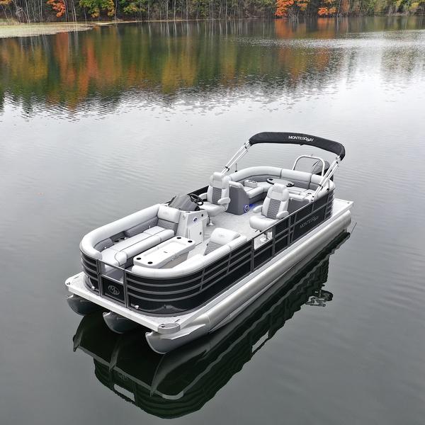 Montego Bay Pontoon TT8524-BR-DLX-BLK-G