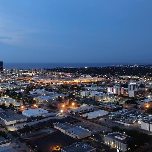 Over view of Metairie, LA