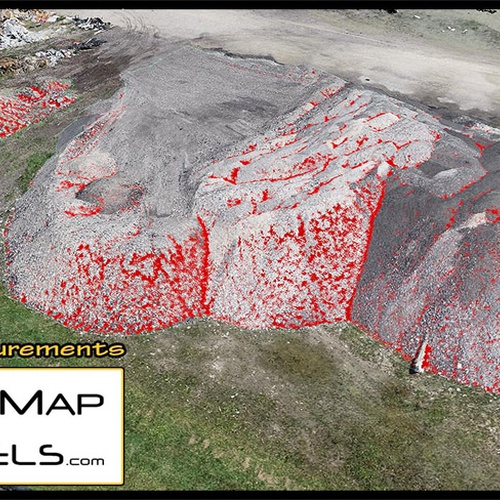 Point Cloud for volumetric calculation of stockpile