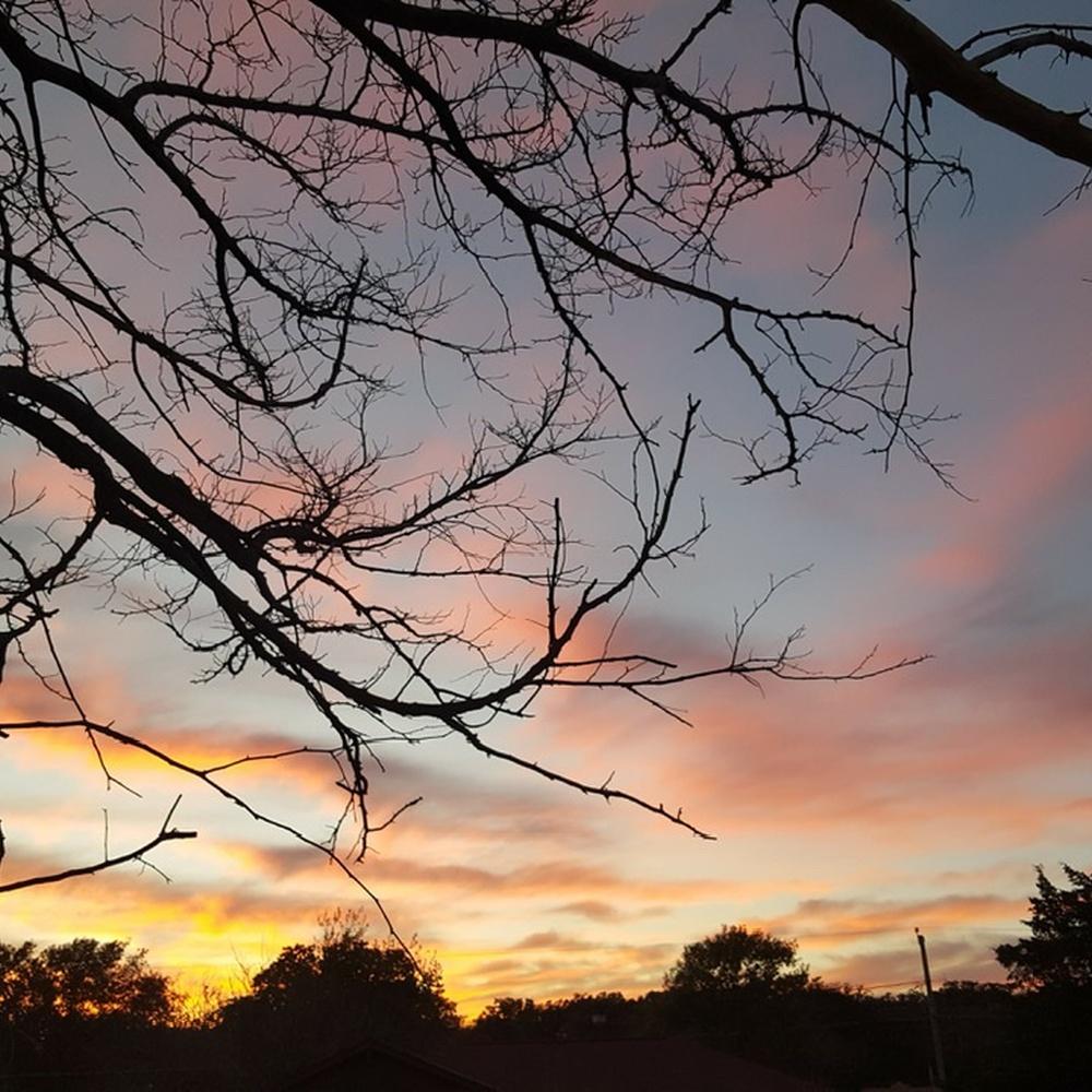 Texas sunset.